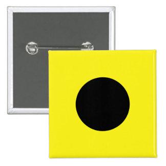 India (I) Signal Flag Pinback Button