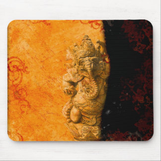 India in Gold mousepad
