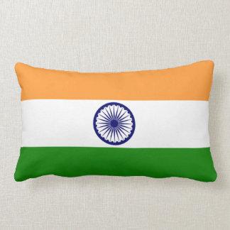 India Indian Flag Lumbar Pillow