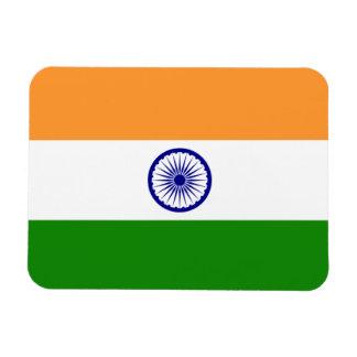 India; Indian Flag Rectangular Photo Magnet