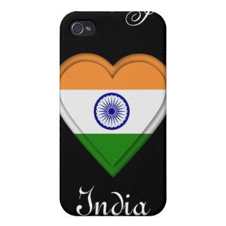 India Indian Manga Flag girl iPhone 4/4S Cover