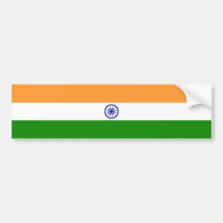 India – Indian National Flag Car Bumper Sticker