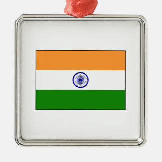 India – Indian National Flag Metal Ornament