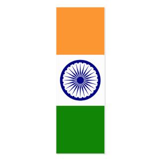India – Indian National Flag Mini Business Card