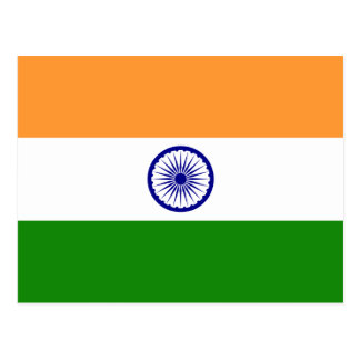 India – Indian National Flag Postcards
