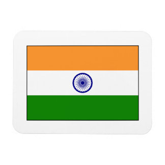India – Indian National Flag Rectangular Photo Magnet
