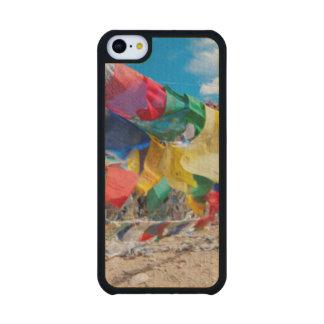 India, Jammu & Kashmir, Ladakh, Namshangla Pass Carved® Maple iPhone 5C Case