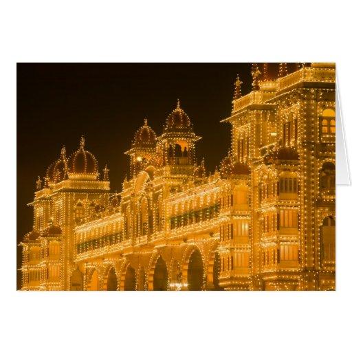 INDIA, Karnataka, Mysore : Majaraja's Palace (b. 2 Greeting Card