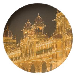 INDIA, Karnataka, Mysore : Majaraja's Palace (b. 2 Melamine Plate