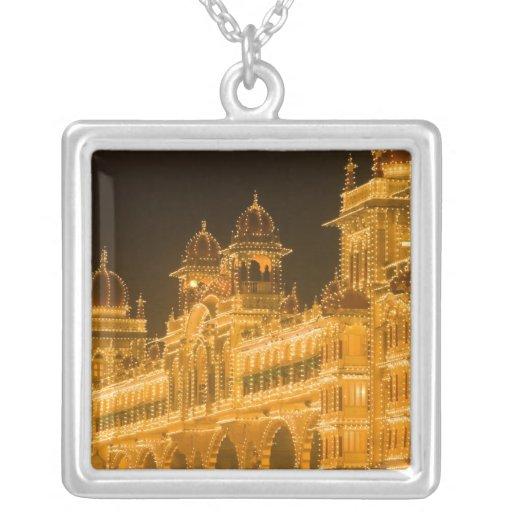INDIA, Karnataka, Mysore : Majaraja's Palace (b. 2 Custom Necklace