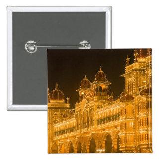 INDIA, Karnataka, Mysore : Majaraja's Palace (b. 2 Pinback Button