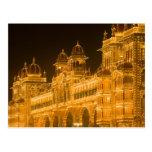 INDIA, Karnataka, Mysore : Majaraja's Palace (b. 2 Postcard