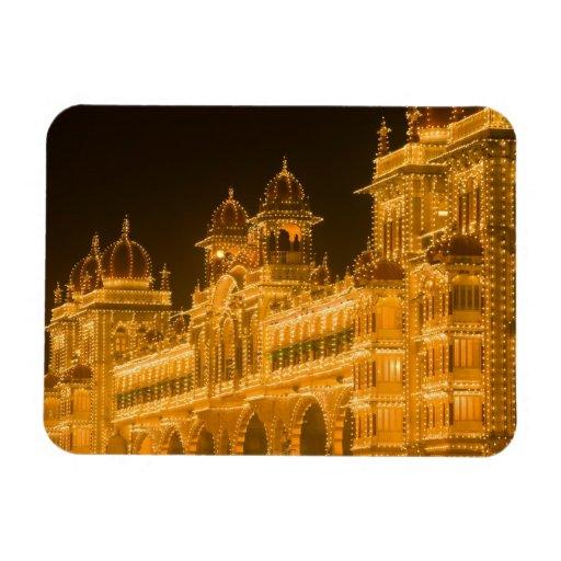 INDIA, Karnataka, Mysore : Majaraja's Palace (b. 2 Flexible Magnets
