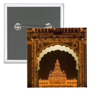 INDIA, Karnataka, Mysore : Majaraja's Palace (b. 3 Pinback Button