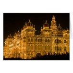 INDIA, Karnataka, Mysore : Majaraja's Palace (b. Card