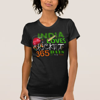 India Loves Cricket 365 Days of the Year Shirt
