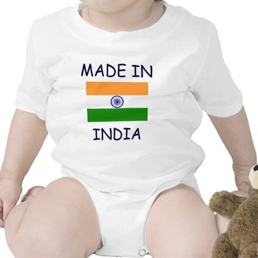 INDIA: MADE IN INDIA baby shirt