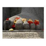 India, Mangalore, Karkala. Jains religion Postcard