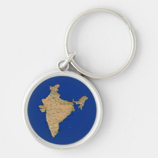 India map keychain zazzle india map keychain gumiabroncs Gallery