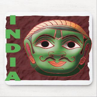 INDIA MASK MOUSE MATS