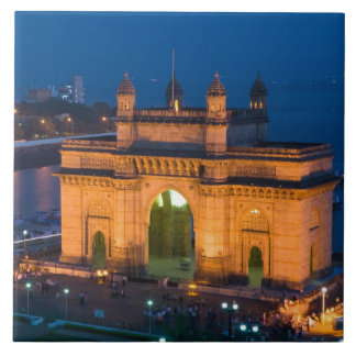 INDIA, Mumbai (Bombay): Gateway of India / Ceramic Tile
