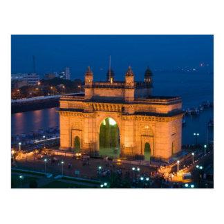 INDIA, Mumbai (Bombay): Gateway of India / Postcard