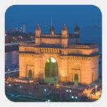 INDIA, Mumbai (Bombay): Gateway of India / Sticker
