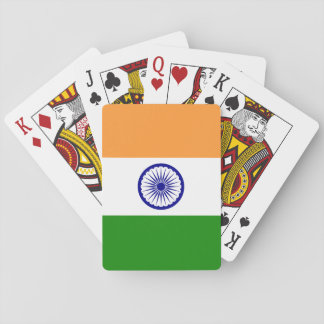 India National World Flag Playing Cards