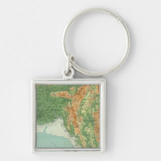 India northeastern section keychain