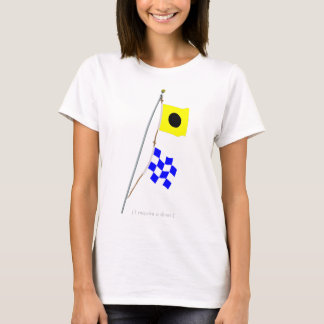 India November Nautical Signal Flag Hoist T-Shirt