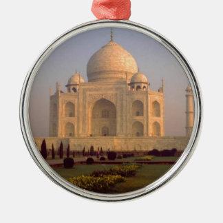 INDIA ROUND METAL CHRISTMAS ORNAMENT