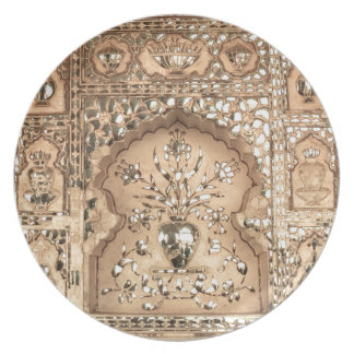 India Palace Design Plate