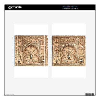 India Palace Design Kindle Fire Decal