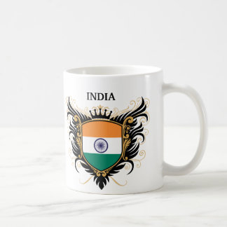 India [personalize] coffee mug