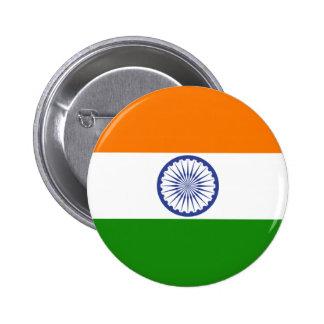 India Pinback Button