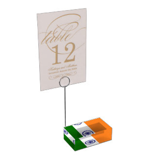 India Place Card Holder