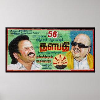 India politician billboard poster