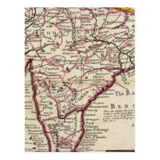 India Proper or the Empire of the Mogul Postcard
