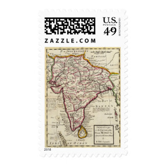 India Proper or the Empire of the Mogul Stamp