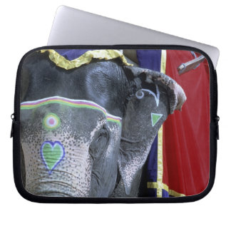 India, Rajasthan, Jaipur. Amber Fort. Laptop Sleeve