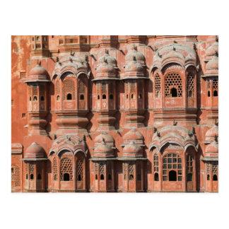 INDIA, Rajasthan, Jaipur: Hawa Mahal (Palace of Postcard
