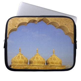India, Rajasthan, Jaisalmer. Sandstone domes Computer Sleeve