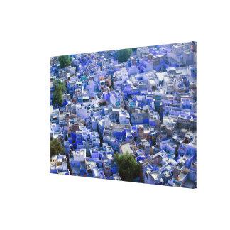 INDIA, Rajasthan, Jodhpur: Blue City of Jodhpur Gallery Wrapped Canvas