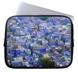 INDIA, Rajasthan, Jodhpur: Blue City of Jodhpur Laptop Sleeve