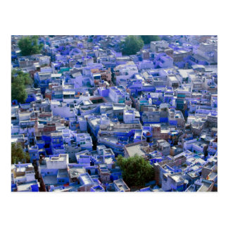 INDIA, Rajasthan, Jodhpur: Blue City of Jodhpur Postcard
