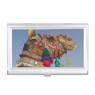 INDIA, Rajasthan, Pushkar: PUSHKAR CAMEL FAIR, Business Card Holder