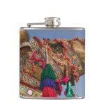 INDIA, Rajasthan, Pushkar: PUSHKAR CAMEL FAIR, Flask