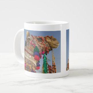 INDIA, Rajasthan, Pushkar: PUSHKAR CAMEL FAIR, Giant Coffee Mug
