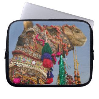 INDIA, Rajasthan, Pushkar: PUSHKAR CAMEL FAIR, Laptop Sleeve