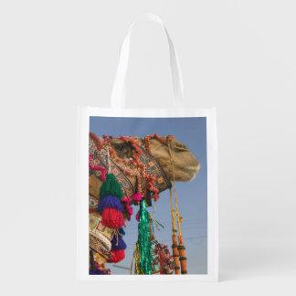 INDIA, Rajasthan, Pushkar: PUSHKAR CAMEL FAIR, Market Totes